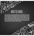 Banner back to school icons design vector image