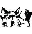 breakdance - vector image