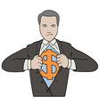 Super Businessman vector image