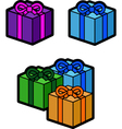 Gifts vector image vector image
