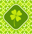 clover green vector image