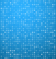 Squares blue technology pattern vector image