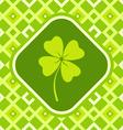 clover green vector image