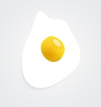 Fried egg icon Image contains a gradient mesh vector image