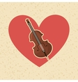 musical instrument design vector image
