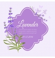 Greeting card invitation template with vector image