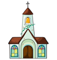 a church vector image vector image