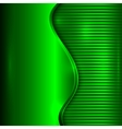 abstract green background with curve and stripes vector image