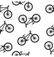 bike seamless pattern vector image vector image