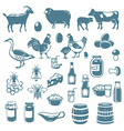 icon farm vector image