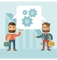 Business brainstorming vector image