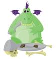Goofy Dragon vector image