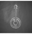 banjo icon vector image