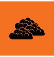 Cloudy icon vector image
