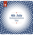 independence day poster template vector image vector image