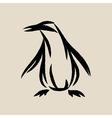Abstract penguin penguin logo vector image vector image