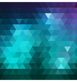 Geometric colorful triangle background vector image