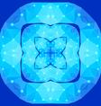 Polygonal geometric constellations vector image vector image