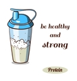 Protein Shaker Classic vector image