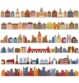 Variants of houses vector image