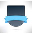 Flat modern badge sign template vector image