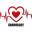 cardiology icon vector image