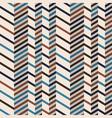 Fashion chevron pattern in brown retro colors vector image vector image