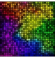 Background from pieces of squares vector image