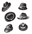 Hats Collection vector image