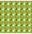 Dogs pattern background vector image