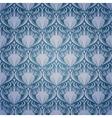 Vintage seamless damask pattern vector image