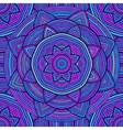 Blue Ethnic Pattern vector image vector image