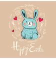 Easter greeting car vector image vector image