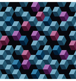 Cubes vector image