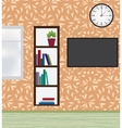 Interior of modern flat vector image