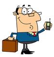 Modern Businessman vector image