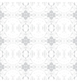 Simple elegant pattern with grey silver shapes vector image