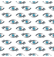 eyes icons pattern vector image