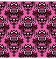 Damask seamless flower pattern vector image