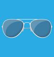 aviator sunglasses protective eyewear vector image