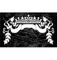 royal sign vector image vector image