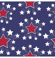 Seamless patterns with American symbols vector image