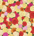 rose seamless vector image vector image