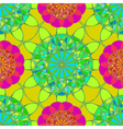 Amazing fractal diamond on a background of vector image