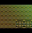 arabic ornaments vector image vector image