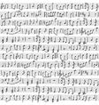 handwritten musical notes vector image