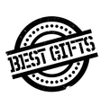 Best Gifts rubber stamp vector image