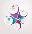 Design circle template vector image vector image