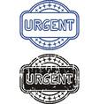 Stamp Urgent vector image vector image