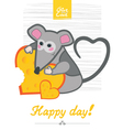 day mouse vector image